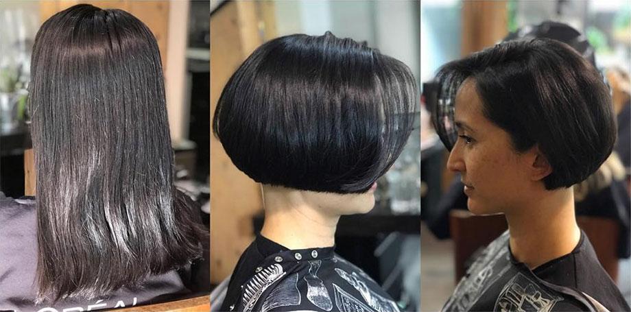 Coco Manzano, Blanche Grad, hairstylist, salon, pro, professional, Vancouver, Blanche MacDonald, hairdresser, stylist, wedding, cuts, styles, hair, cut, precision, makeover, bob