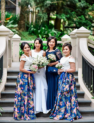 Coco Manzano, Blanche Grad, hairstylist, salon, pro, professional, Vancouver, Blanche MacDonald, hairdresser, stylist, wedding, cuts, styles, hair, wedding party, family, bridal party, Asian, beautiful