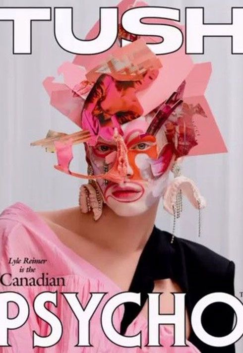 Lyle Reimer's Masterpiece for the cover of TUSH Mag