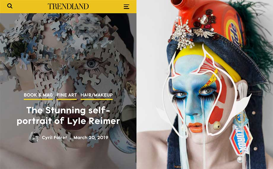 Blanche Macdonald Makeup graduate Lyle Reimer featured in Trendland