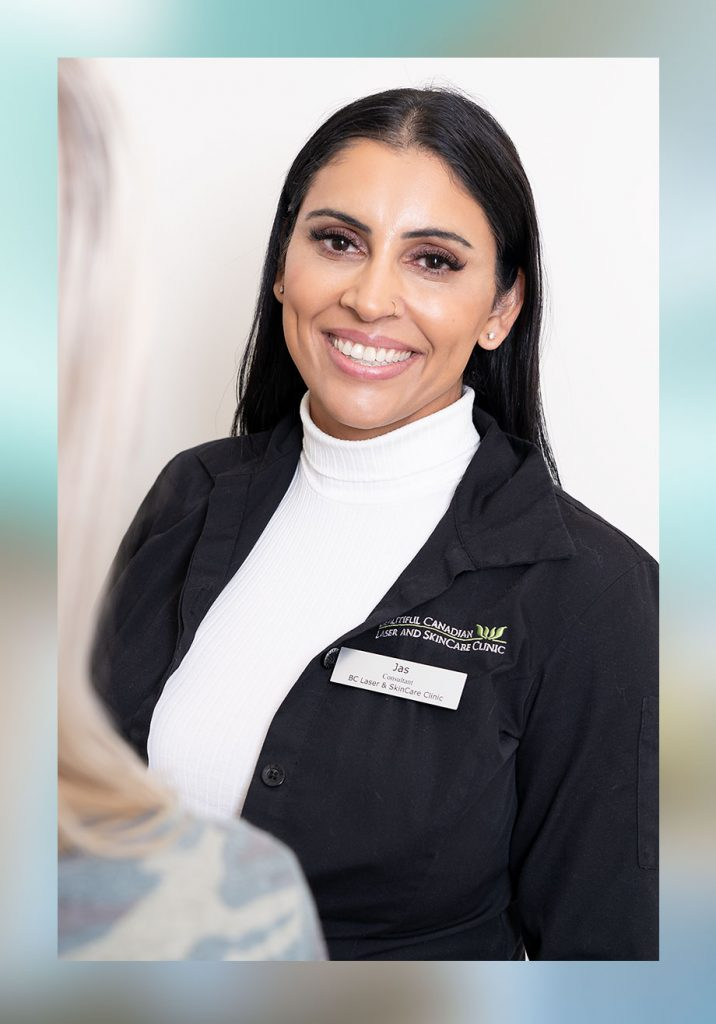 Jas Sahota portrait taken at Beautiful Canadian Laser & Skincare
