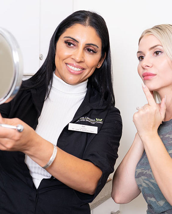 Beautiful Canadian Laser & Skincare Clinic's Senior Technician—Jas Sahota
