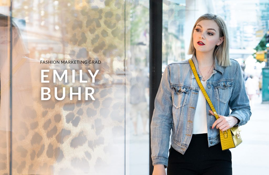 Fashion Exclusive: Fashion Marketing Grad Emily Buhr Shines at Legendary Fashion House