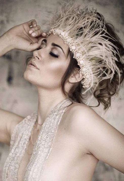 glamorous makeup look by Blanche Macdonald graduate Alejandra Hernandez