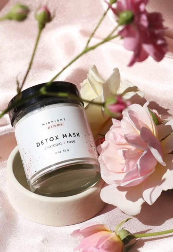 Midnight Paloma Detox Mask by Talyer Rogers, Blanche Macdonald makeup graduate