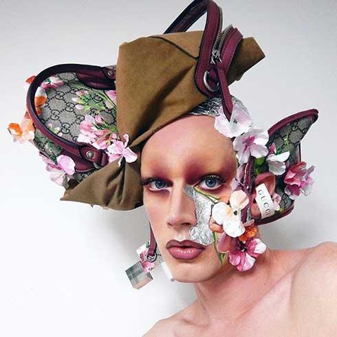 LyleXOX's unique Gucci creation on Instagram
