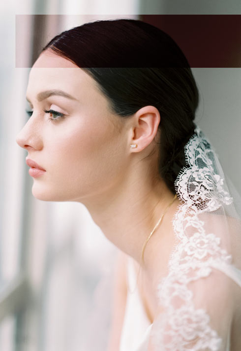matte bridal makeup look by BMC Pro Makeup Graduates The Artistry Collective