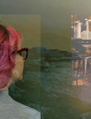 BMC pro hair graduate Camille Petit pink hair Kelowna