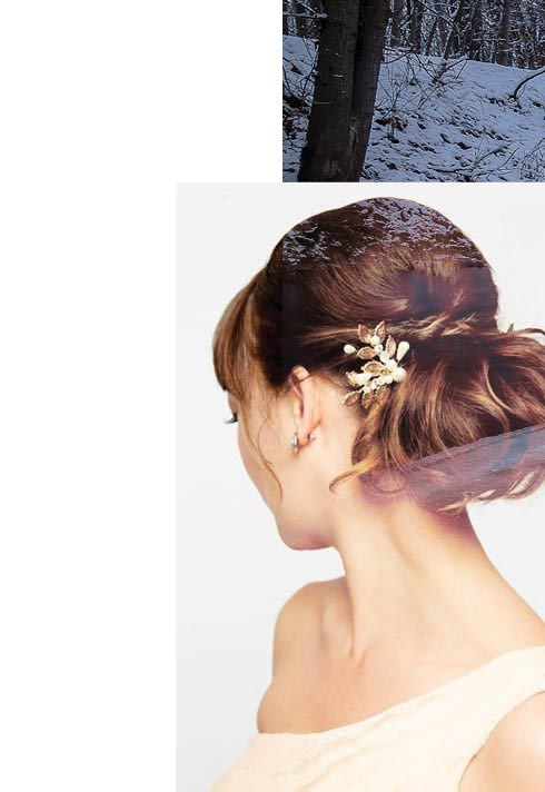Camille Petit BMC pro hair graduate bridal hair