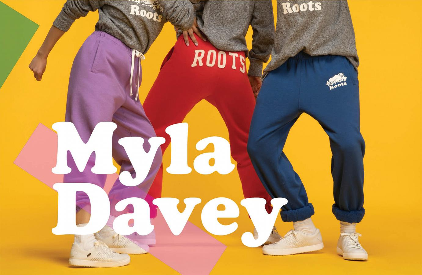 Roots' flexible, inclusive Brand Marketing Manager: Myla Davey