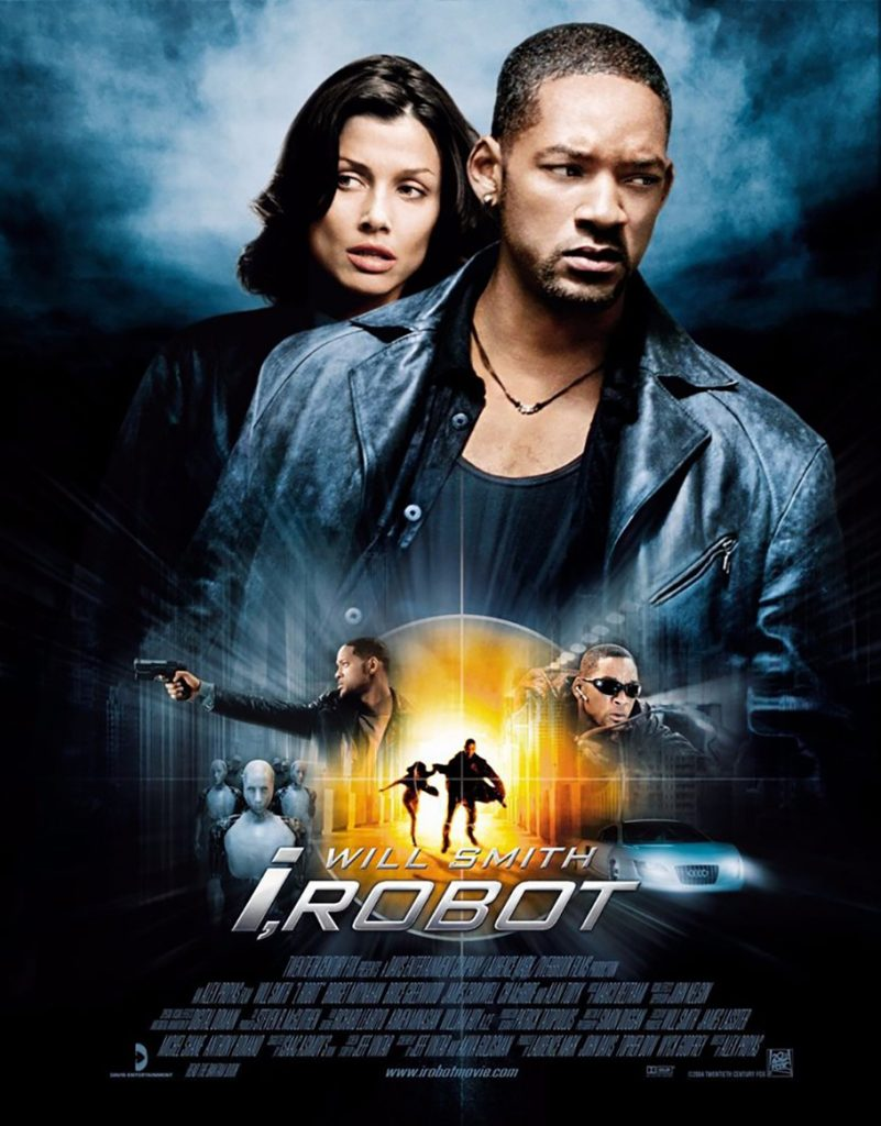 Blanche Macdonald grad Tanya Howard first assistant makeup on i robot film starring Will Smith