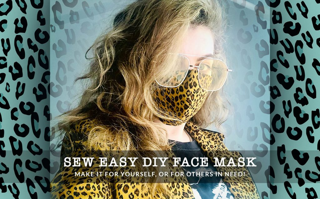Face Mask DIY: Create Your Own Washable Face Mask With Coffee Filter Insert