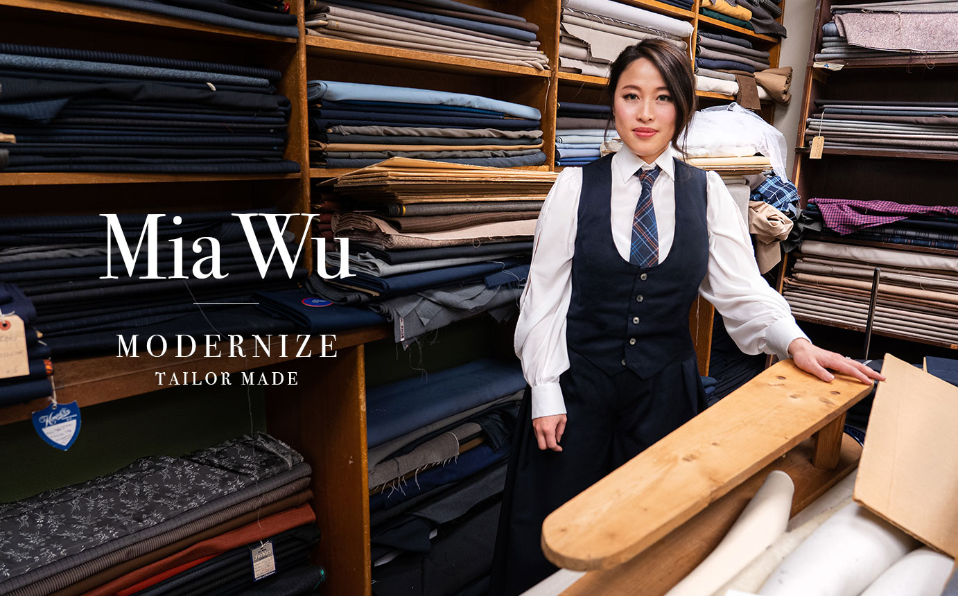Mia Wu Keeps History Alive at Modernize Tailors