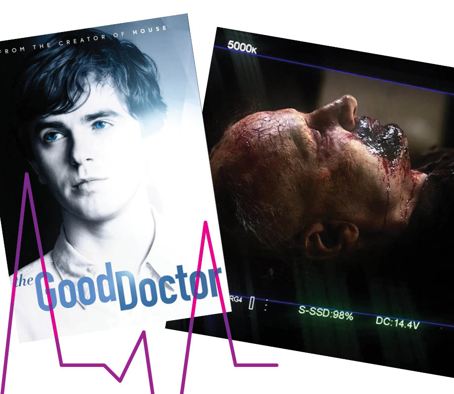 TV and film makeup artist Victoria Ferguson's work on The Good Doctor