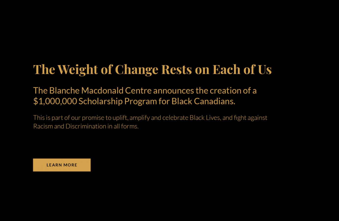 Blanche Macdonald launches scholarship program for Black Canadians