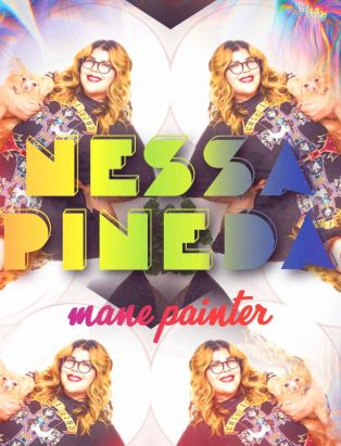Unicorn Hair and Bold Hues: Field Trip's Mane Painter Nessa Pineda!