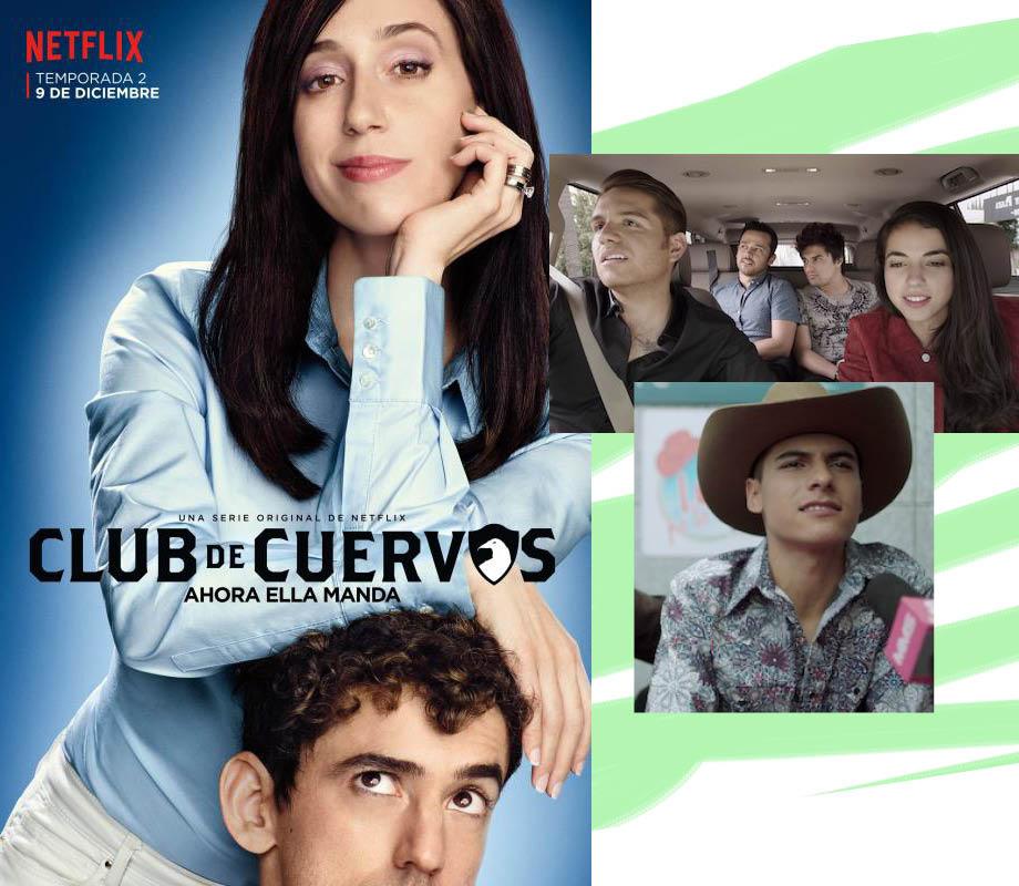 BMC Pro Makeup Graduate Gabriela Benito's work on Netflix's Club de Cuervos TV show