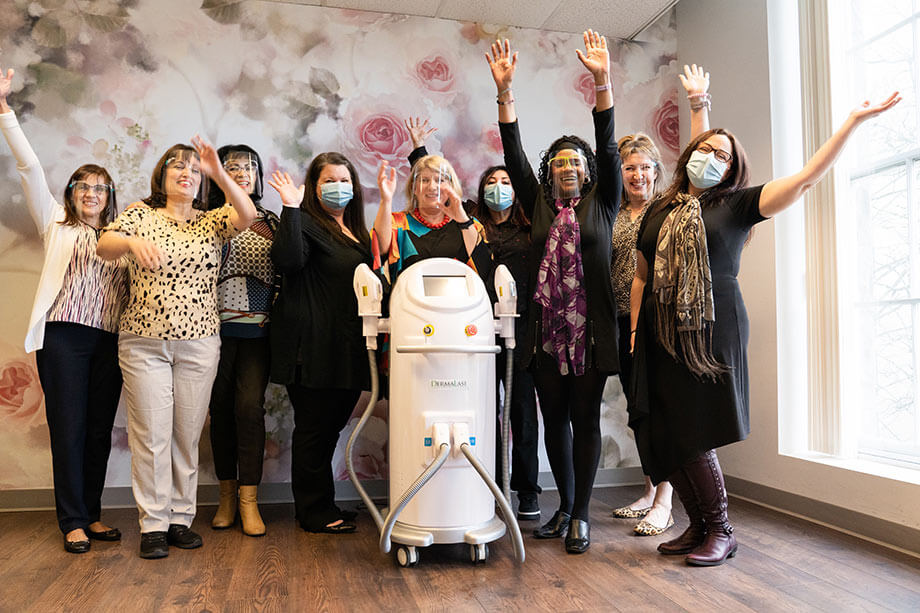Esthetics Faculty welcomes new IPL Dermalase Machine named Pikachu