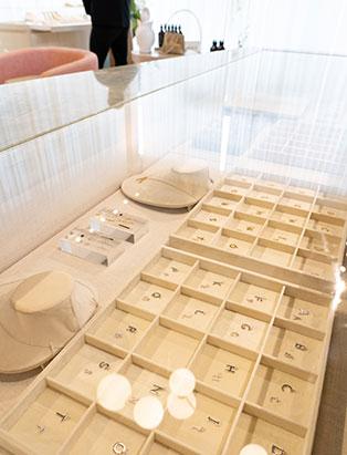 tray of beautiful jewelry