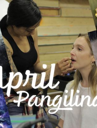 Makeup for Movies—Grad April Pangilinan Goes from Screening to Silver Screen