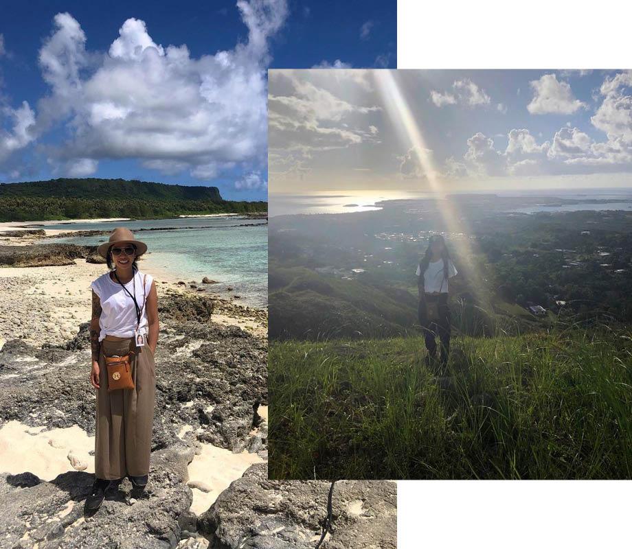 BMC Graduate April Pangilinan in Guam