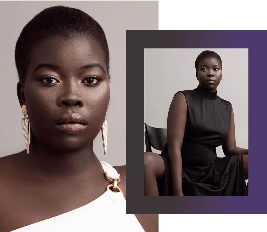 BMC Fashion Marketing graduate and Calgary fashion stylist Vanessa Smith's black and beautiful minimalist editorial