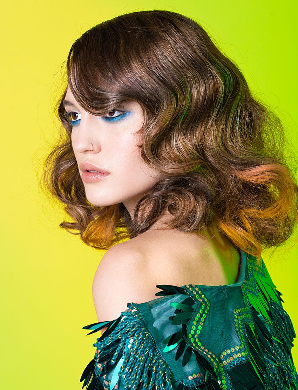 Hair by Freddy Sim, Blanche Macdonald Graduate.