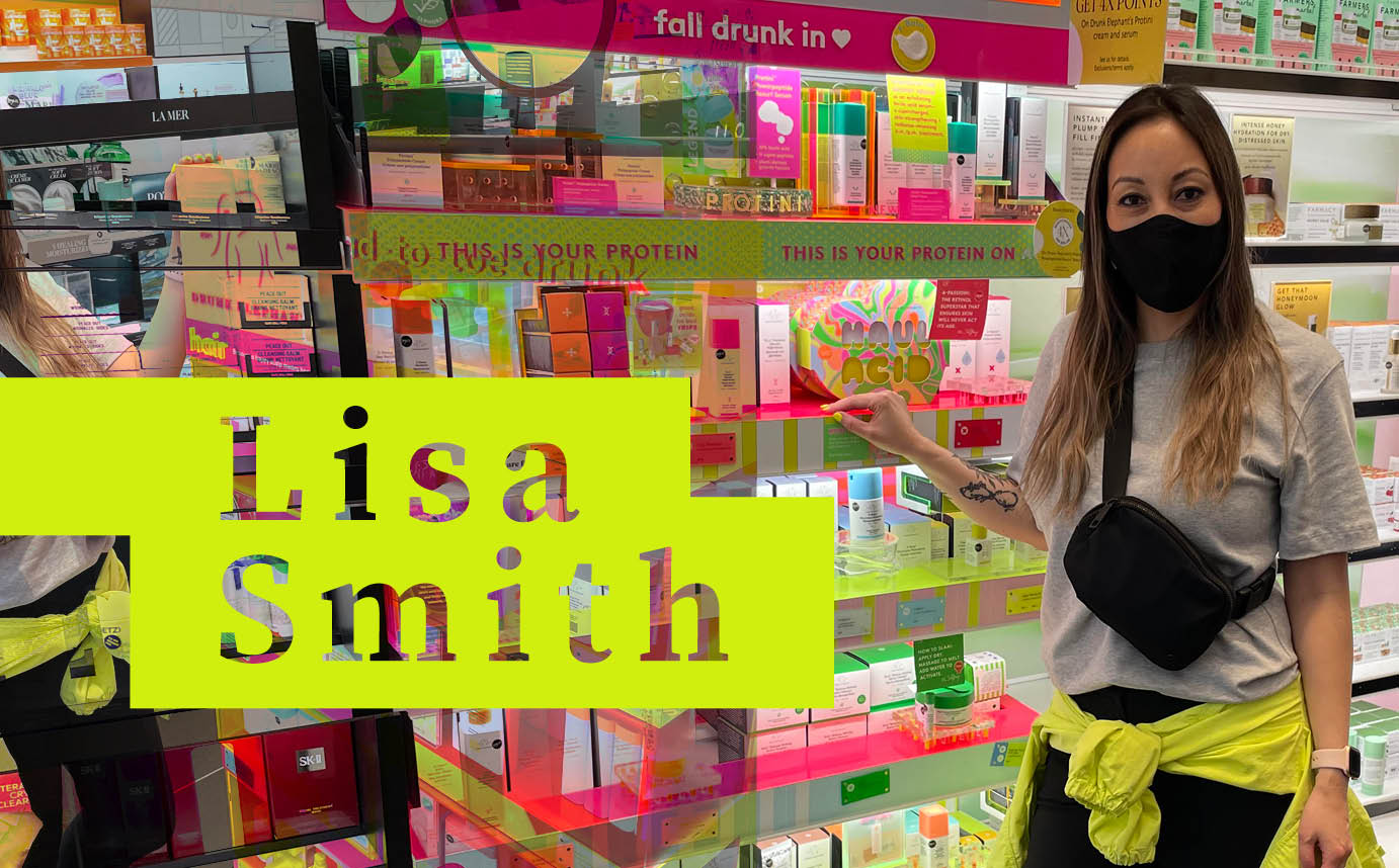 Makeup Grad Lisa Smith Lives, Breathes and Sleeps Drunk Elephant as BC's Sales and Education Exec!