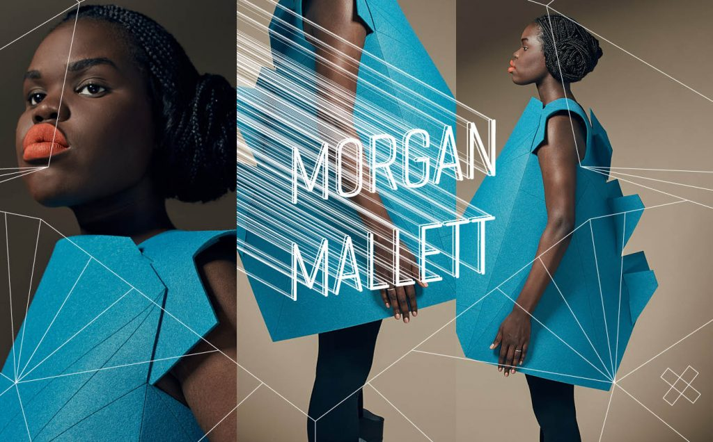 Blanche Instructor + Graphic Design Director Morgan Mallett Morphs Into New Design Territory