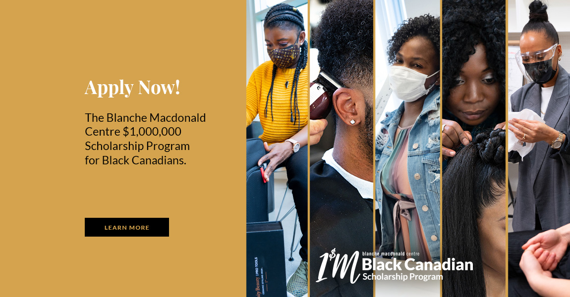 one million dollar scholarship program for Black Canadians